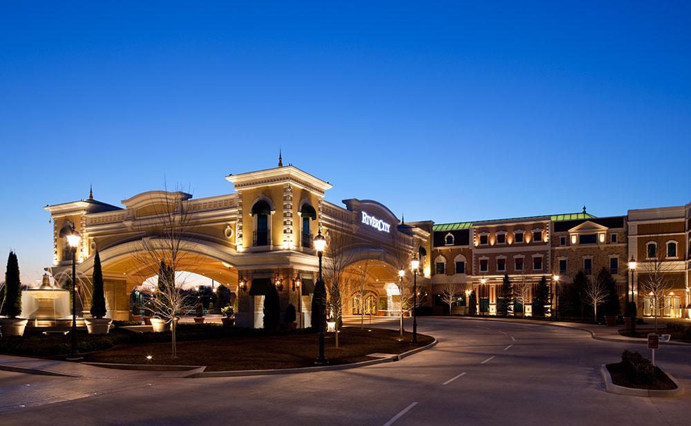 River City Casino Randy Burkett Lighting Design