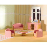 Pink Living Room Set