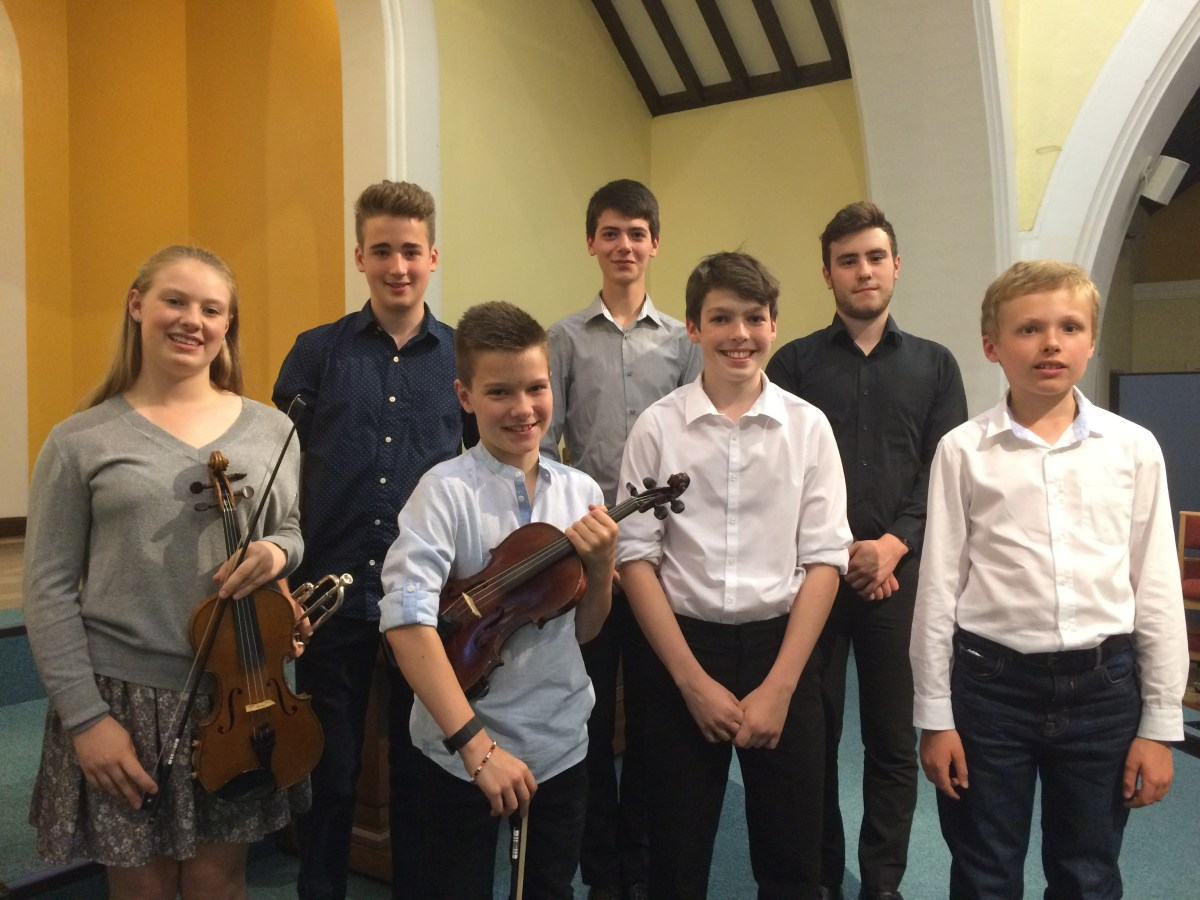 Oxted & Limpsfield Music Society Concert 2017
