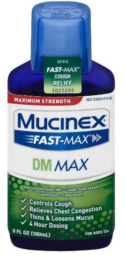 MUCINEX® FAST-MAX® DM Max Liquid