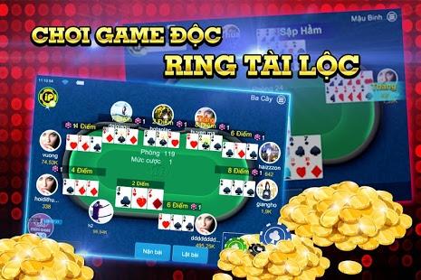 hình ảnh game bài 3 cây trong cổng game iplay