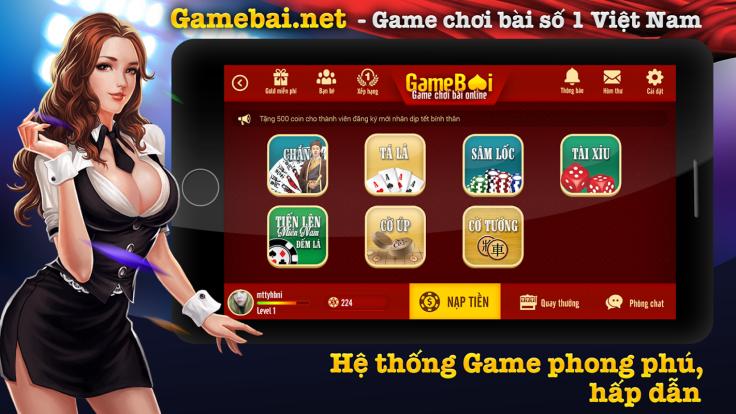 Hệ thống game đổi thưởng đa dạng có nhiều lựa chọn