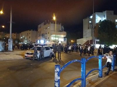 ההפגנה הסוערת ברמה ב