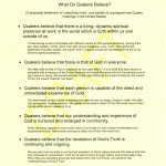 Larrabees Statement of Quaker Beliefs