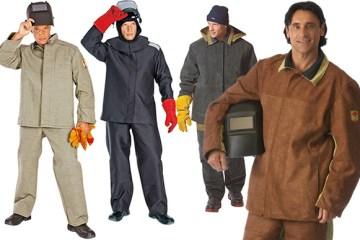 Одежда и инструменты сварщика