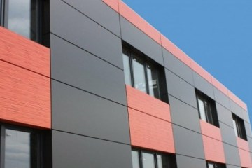 Отделка фасадов композитными панелями