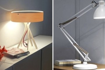 table lamp for a student to choose