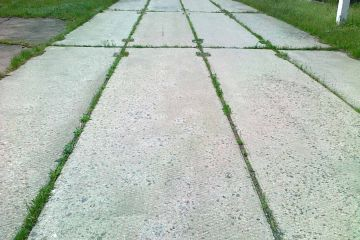 the use of concrete road slabs
