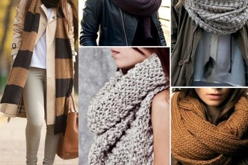 Scarves fashionable trends and patterns