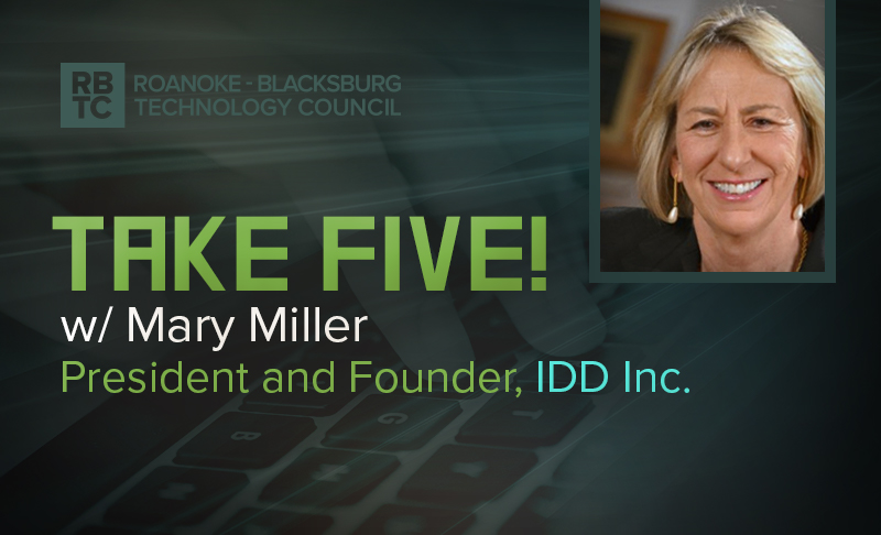 Take Five with Mary Miller, President of IDD