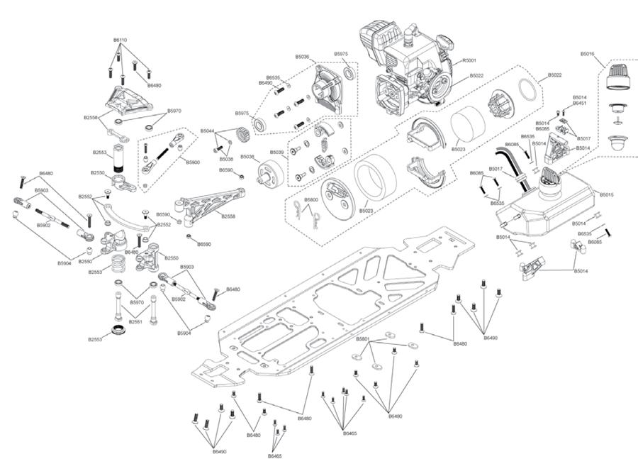 hpi baja 5t parts diagram