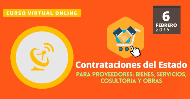 Contrataciones del Estado para proveedores   Curso virtual online