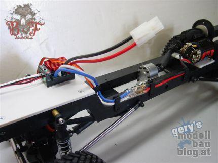 Ford F-150 - Robitronic Speedstar Crawler Regler