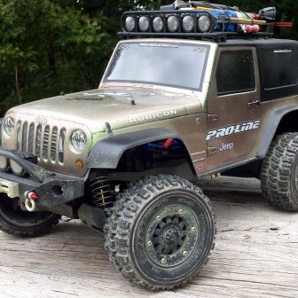 Traxxas Stampede Jeep - Transformed by Proline
