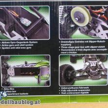 SandStorm one8 - Highlights wie das Gyro-Gegenlenk-System