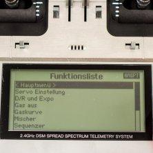 Spektrum DX10t - Auswahlrad