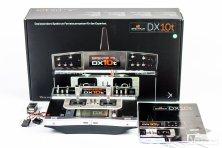 Lieferumfang: Pultsender SPEKTRUM DX10t von HORIZON HOBBY