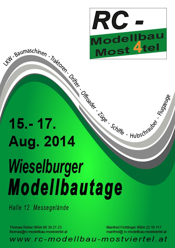Wieselburger Modellbautage & Fun-Truck-Trophy!