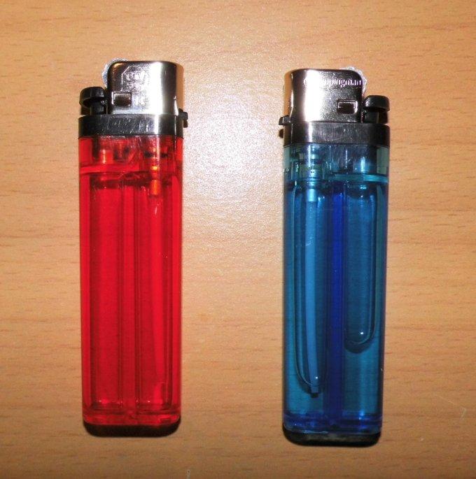 Feuerzeug Blaulicht (2)