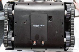 Reset und Akkufach (6 Stk. AA Batterien)