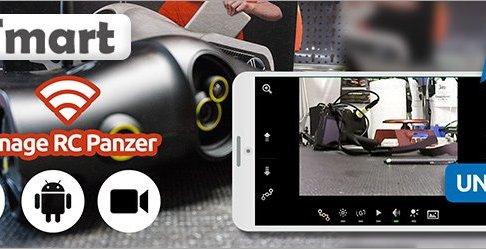 RC Spionage Panzer mit Kamera & Wifi Controll