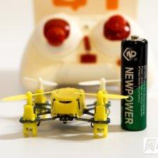 Größenvergleich zu einer AA Alkaline Batterie