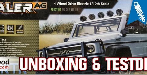 Banggood HG P402 Scale Crawler - Unboxing & Testfahrt