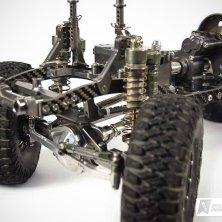 Echte Piggyback Stoßdämpfer aus Aluminium