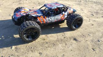 Speedrun - Absiama Sand Buggy ABS1BL Hotshot - Testfahrt & Bashing