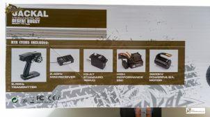 Auflistung der mitgelieferten und verbauten Komponenten