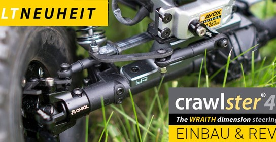 crawlster®4Wd LenkSystem