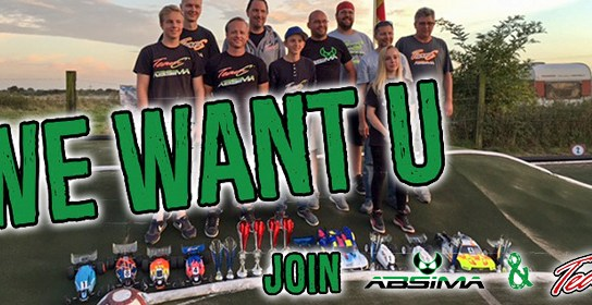 ABSIMA & TeamC sucht Teamfahrer