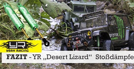 """Erfahrungsbericht: """"Desert Lizard"""" Stoßdämpfer von Yeah Racing"""