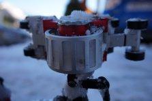 Vereister Mitnehmer Snow Track