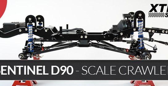 Xtra Speed Sentinel D90 1/10 - Scale Crawler + Karosserie