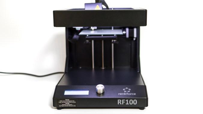 Renkforce RF100 3D Drucker - Vorderseite