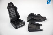 Volle Schalensitze aus Kunststoff