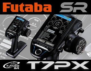 FUTABA T7PX 2.4GHz + R334SBS