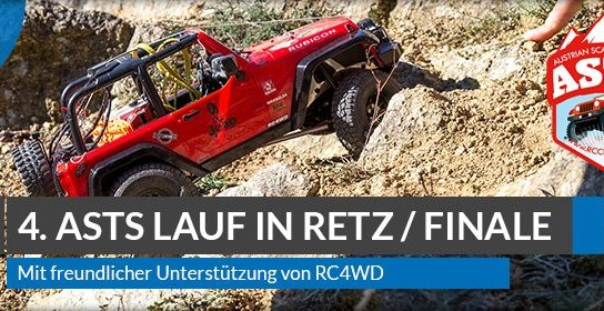Beitragsbild: 4. ASTS Lauf in Retz powered by RC4WD / Finale 2017