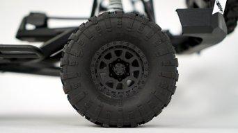 """Rockthorn Reifen (109mm x 38mm S-Compound)auf CR-10 1.9"""" Kunststoff-Felgen"""