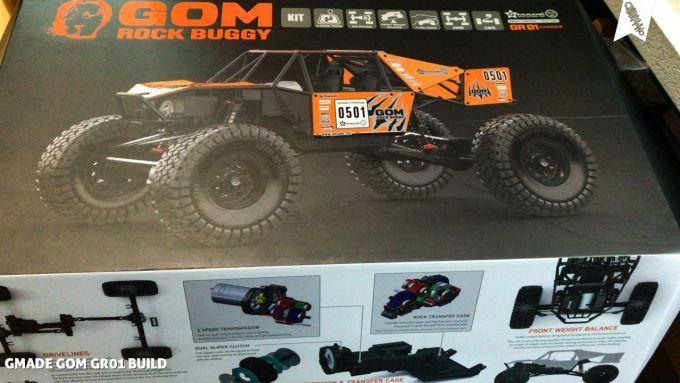Mani's GMADE GOM GR01 Build - Rock Racer Baubericht 1