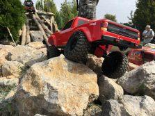 Traxxas TRX-4 Sport in Action auf Felsen