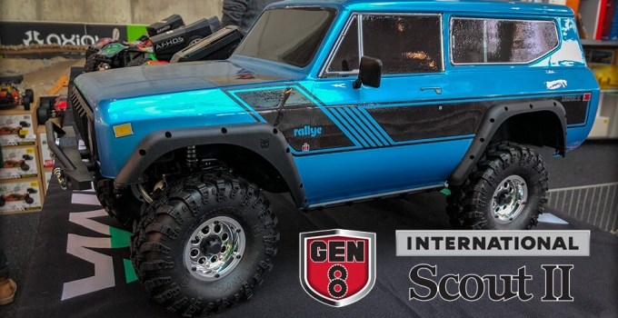 Redcat Racing Gen8 Scout II RC Scale Crawler - Blue Edition 1