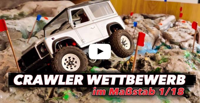Beitragsbild: Ultimate Mini Scale Truck Competition - Scale Crawler Wettbewerb mal ganz klein!
