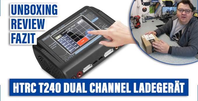 HTRC T240 DUO RC Balance Ladegerät/Entlader für LiPo, LiFe, NiCd Akkus