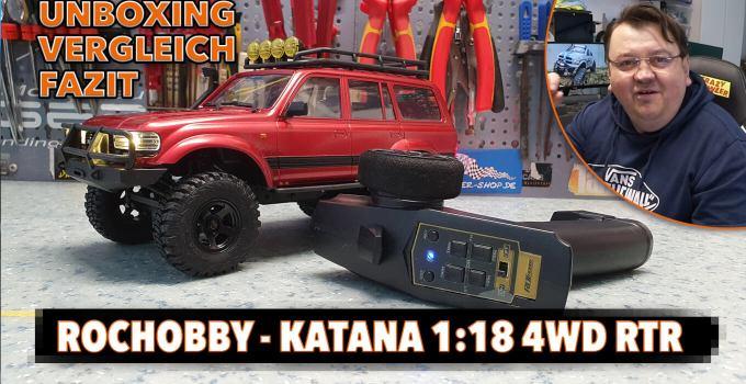 Der beste Mini RC Scale Crawler? – Rochobby Katana 1:18 4WD – #Unboxing