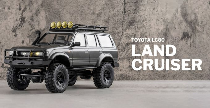 FMS – TOYOTA LC 80 Land Cruiser 1:18 – Crawler RTR 2.4GHz