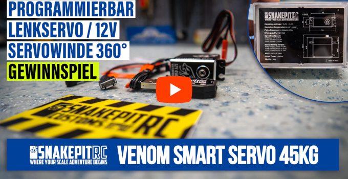 Unboxing: Snakepit RC – Venom Smart Servo 45kg als Lenkservo od. Servoseilwinde