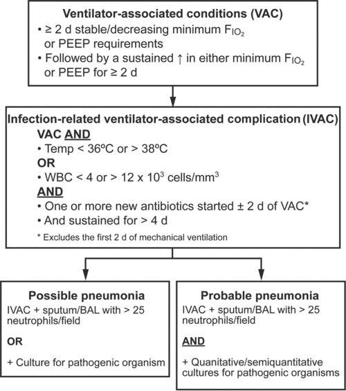 small resolution of the vexing problem of ventilator associated pneumonia observations pneumonia flowchart pneumonia flow diagram