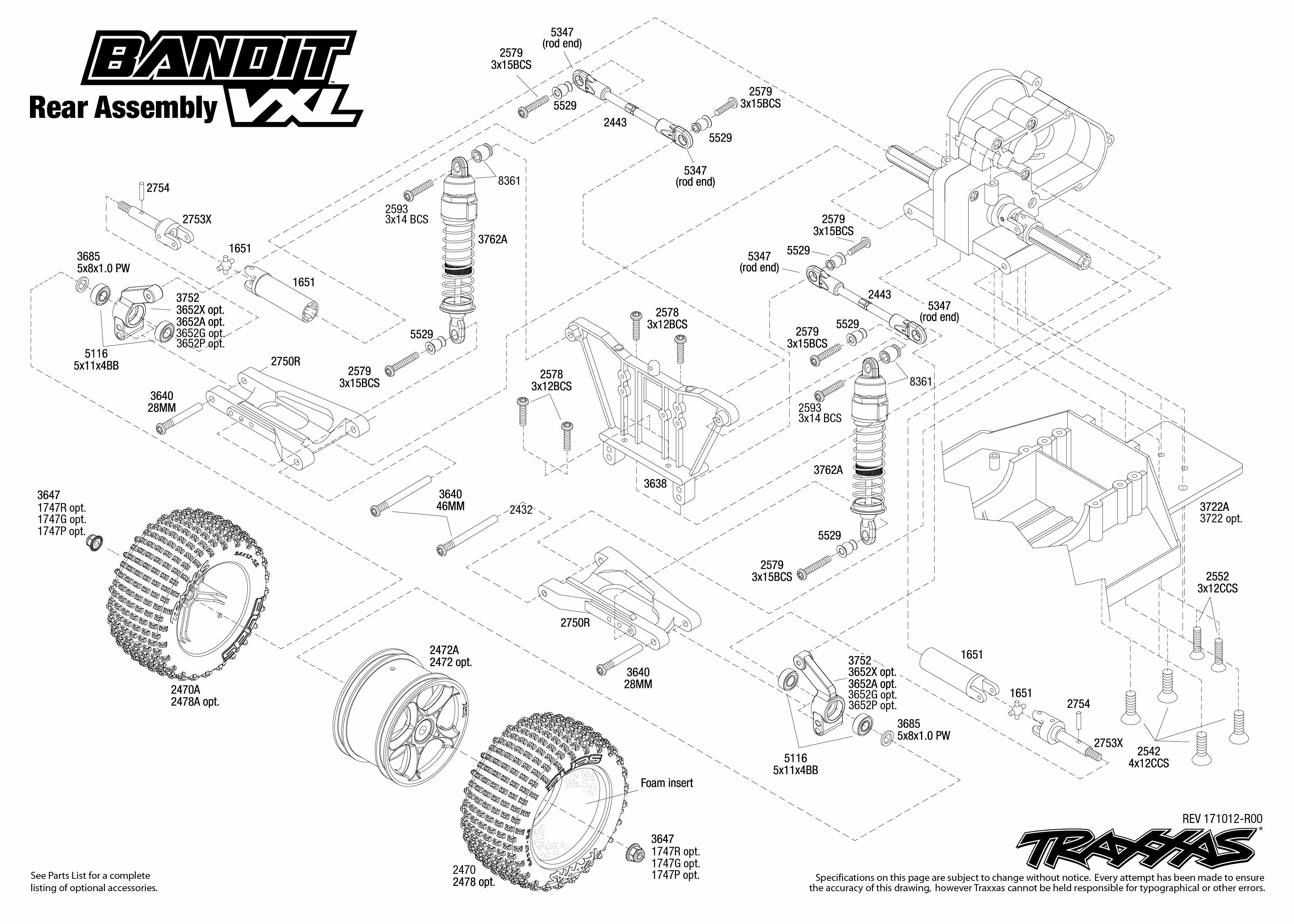 Slash 2wd Parts Diagram